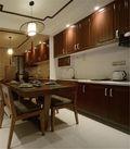 90平米三东南亚风格厨房图片