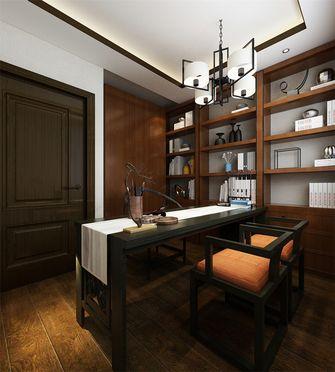 90平米公寓中式风格书房橱柜欣赏图