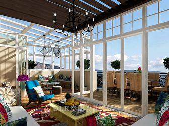 130平米复式其他风格阳光房装修效果图