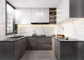 80平米三室两厅现代简约风格厨房效果图
