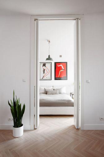 80平米一室一厅田园风格走廊图片