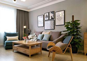富裕型80平米三现代简约风格客厅装修案例
