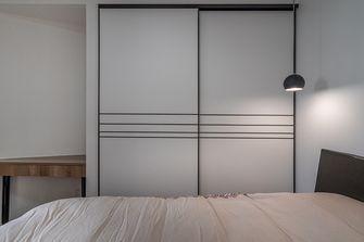 富裕型50平米小户型现代简约风格卧室图