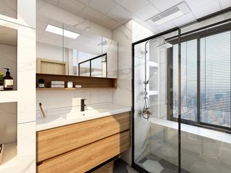 100平米三室一厅日式风格卫生间装修图片大全