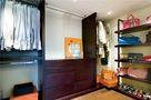 130平米三室两厅现代简约风格衣帽间衣柜装修图片大全