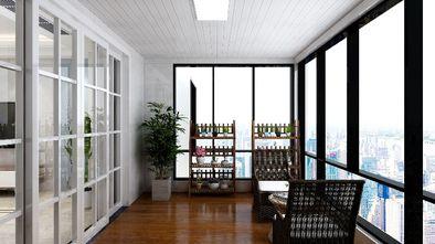 140平米三现代简约风格阳台图