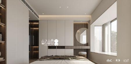 130平米三室一厅现代简约风格玄关装修效果图