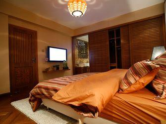 120平米三室两厅东南亚风格卧室图