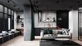 50平米小户型其他风格客厅装修效果图
