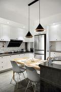 90平米三室两厅欧式风格厨房装修图片大全