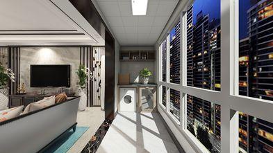 120平米三中式风格阳台装修效果图