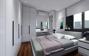 50平米一居室现代简约风格卧室效果图