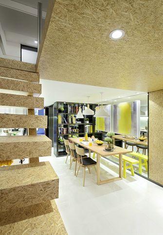 富裕型90平米复式宜家风格楼梯装修图片大全