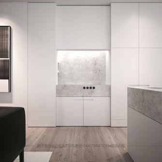 90平米公寓现代简约风格厨房设计图