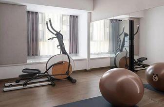 140平米三室两厅现代简约风格健身室欣赏图