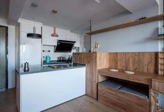 60平米一居室北欧风格厨房欣赏图