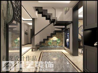 富裕型140平米四室三厅中式风格楼梯装修图片大全
