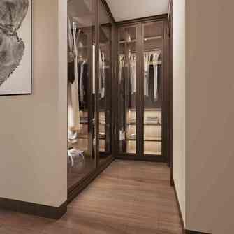 120平米四室两厅中式风格衣帽间图片