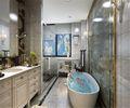 140平米三室两厅欧式风格卫生间效果图