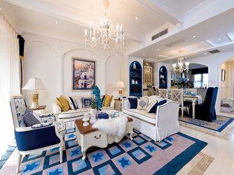 20万以上140平米四室三厅地中海风格客厅效果图