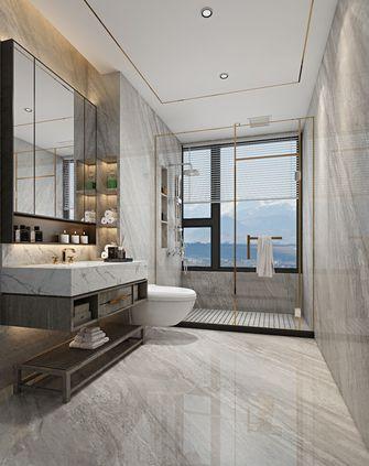 140平米四室一厅现代简约风格卫生间图片大全
