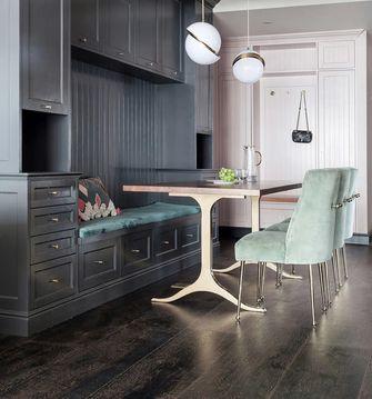 120平米三室两厅法式风格餐厅欣赏图