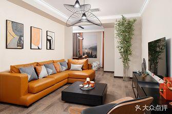 70平米中式风格客厅装修案例