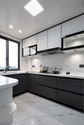 90平米三室两厅现代简约风格厨房装修效果图