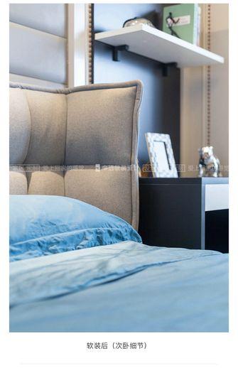 20万以上140平米三室一厅现代简约风格卧室设计图