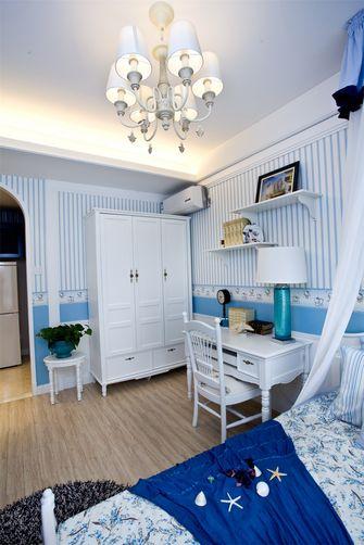 100平米三室两厅田园风格卧室图片大全