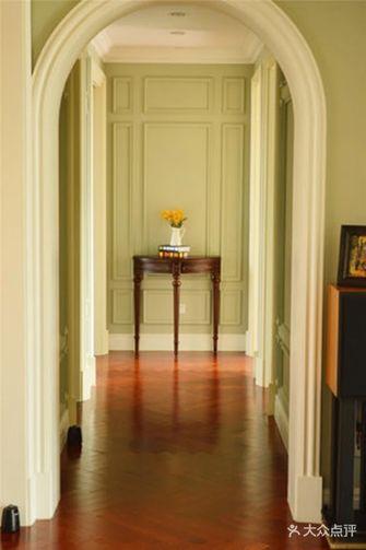 140平米三室三厅英伦风格玄关装修图片大全