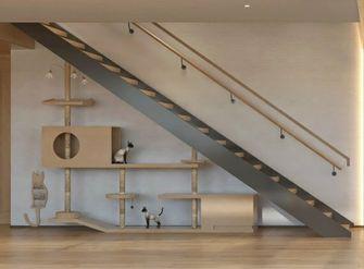 140平米别墅日式风格楼梯间装修案例