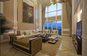 80平米新古典风格客厅设计图