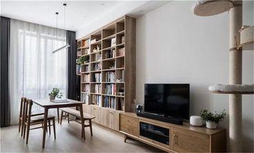 经济型60平米一室一厅日式风格客厅装修图片大全