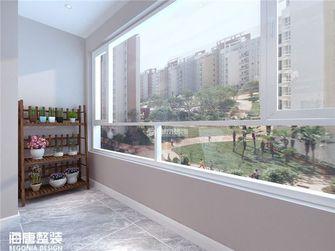 140平米四室两厅其他风格阳台图片大全