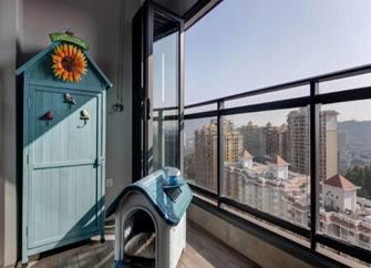 110平米三法式风格阳台装修效果图