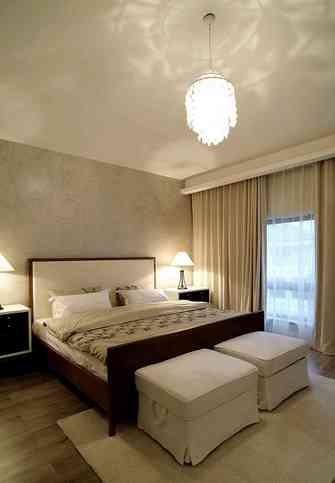 140平米别墅北欧风格卧室装修案例