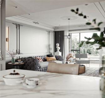 120平米三法式风格客厅装修案例