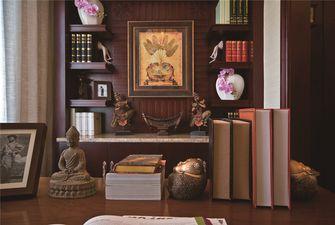 80平米公寓东南亚风格书房图片大全