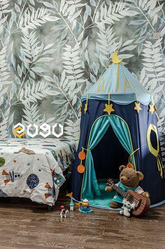 80平米美式风格儿童房效果图