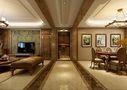 140平米四室五厅美式风格走廊图片