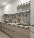 130平米三室两厅日式风格厨房装修效果图