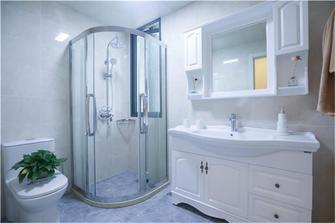 70平米欧式风格卫生间设计图