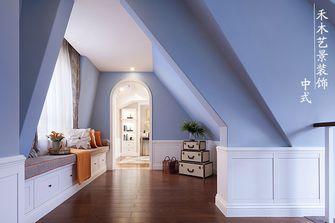 经济型80平米三室一厅美式风格楼梯装修案例