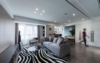 100平米三现代简约风格客厅图片
