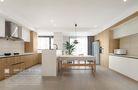 140平米三室两厅日式风格餐厅设计图
