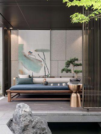 120平米三室一厅新古典风格阳台设计图