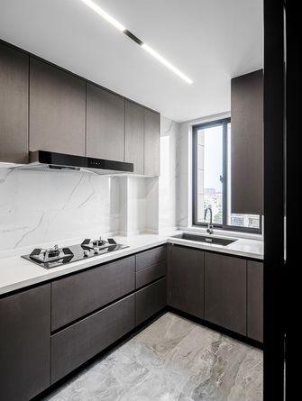 140平米四现代简约风格厨房装修图片大全
