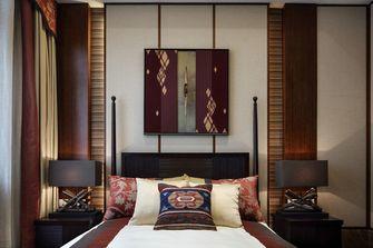 140平米别墅东南亚风格卧室图片
