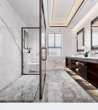 140平米三室三厅中式风格卫生间欣赏图